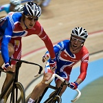 Wiggins and Cavendish Track